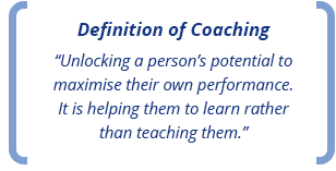 Definition of Coaching